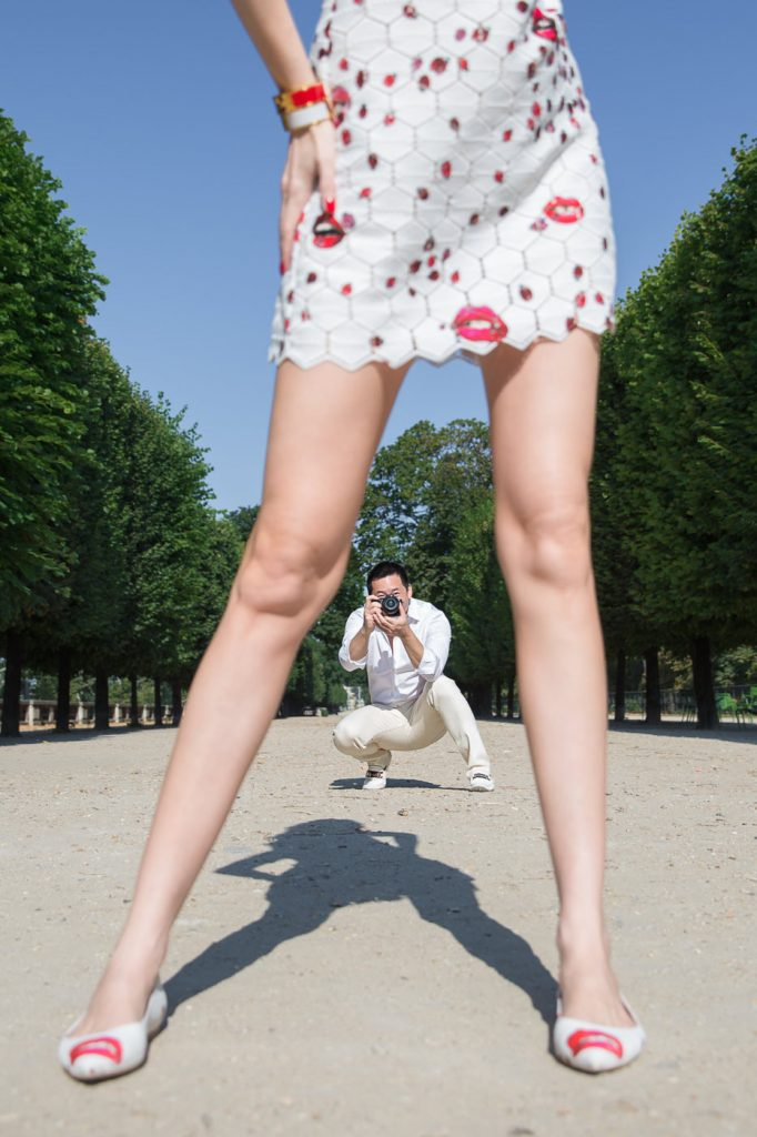 Editorial photo ideas in Paris for couples